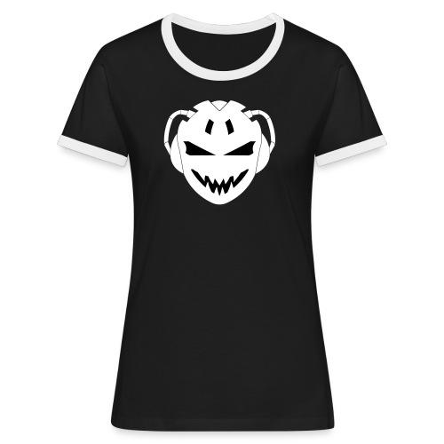 Officiell SEUA Logo - Kontrast-T-shirt dam