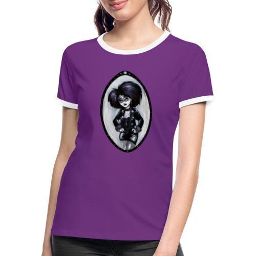 Trad Goth Art by E. R. Whittingham - Women's Ringer T-Shirt