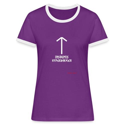 insoumisHyperboréen - T-shirt contrasté Femme