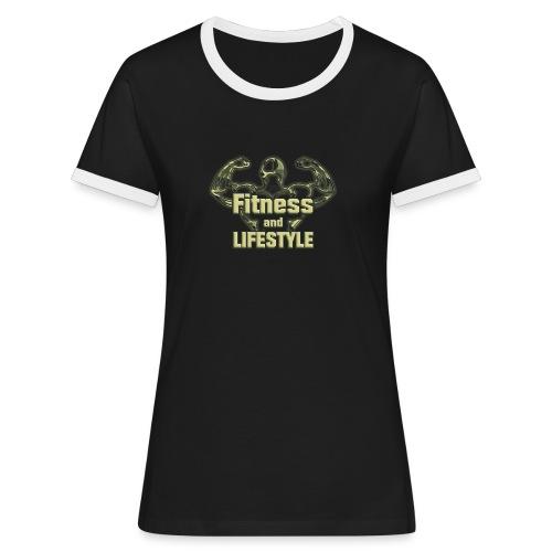 CTF Fitness & Lifestyle! - Vrouwen contrastshirt