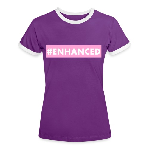 ENHANCED BOX - Women's Ringer T-Shirt