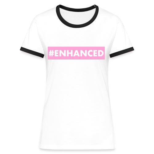ENHANCED BOX - Women's Ringer T-Shirt