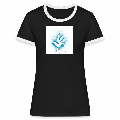 T Shirt 3 - T-shirt contrasté Femme