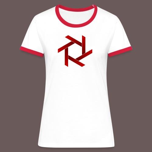Star - Dame kontrast-T-shirt