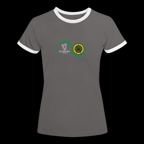 Harp and French CSC logo - T-shirt contrasté Femme