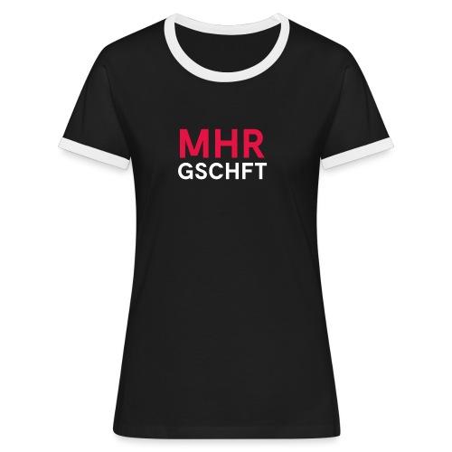 MHR GSCHFT - Frauen Kontrast-T-Shirt