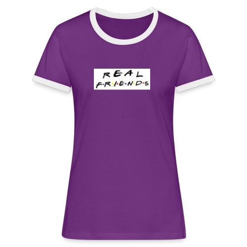 Real freinds - Dame kontrast-T-shirt