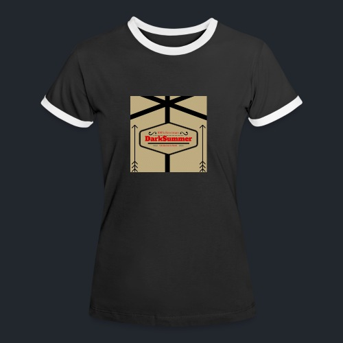 desing 3 png - Frauen Kontrast-T-Shirt