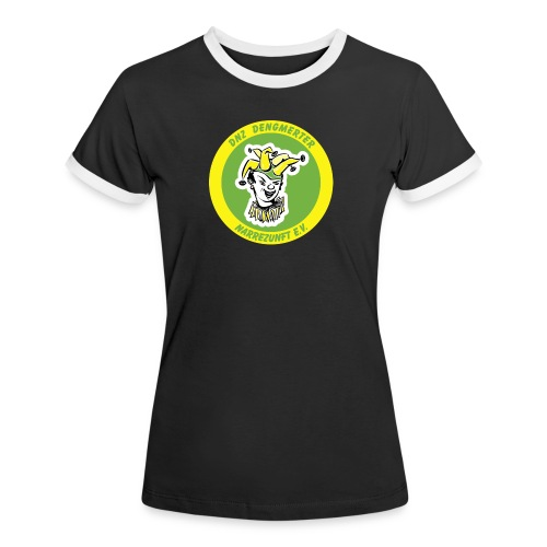 DNZ - Frauen Kontrast-T-Shirt