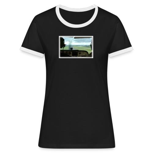 landing2 120dpi - Women's Ringer T-Shirt