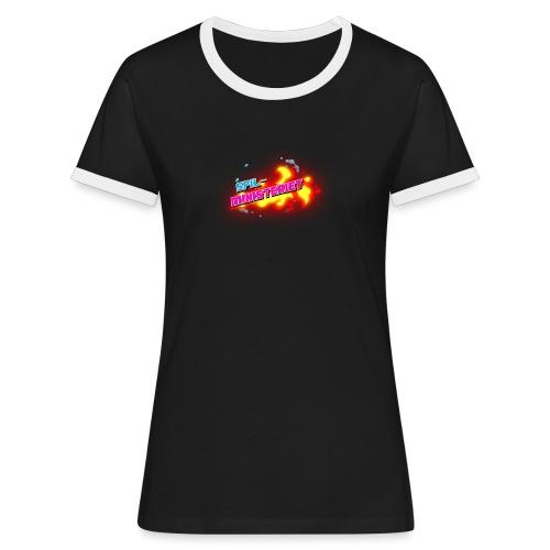 Spilministeriet - Dame kontrast-T-shirt