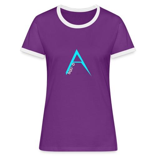 ANGISTEF SQUAD LOGO - Kontrast-T-shirt dam