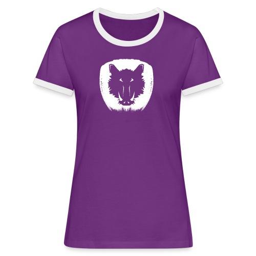 Stilk Sanglier - T-shirt contrasté Femme