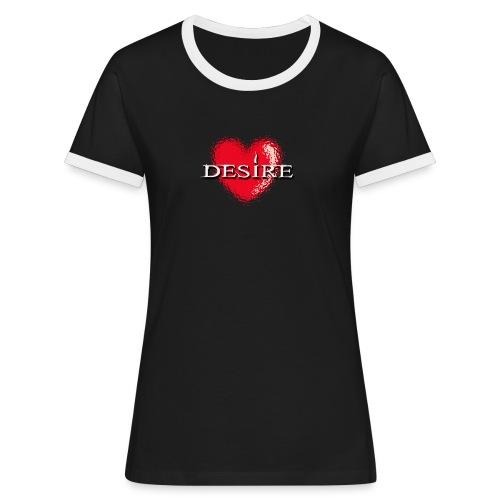 Desire Nightclub - Women's Ringer T-Shirt