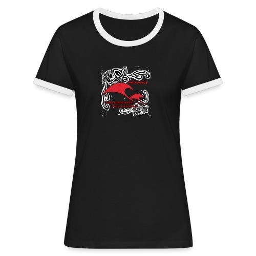 redifiori gif - Maglietta Contrast da donna