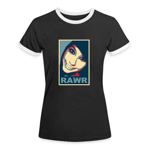 rawr big - Women's Ringer T-Shirt