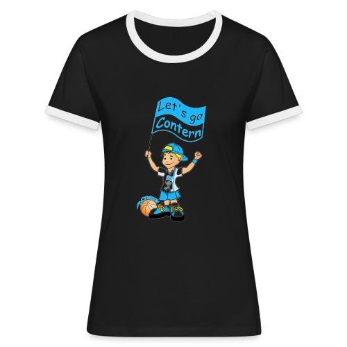 mascotte shop big - Frauen Kontrast-T-Shirt