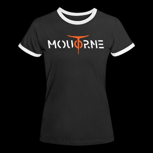 Moutorne fashion two - T-shirt contrasté Femme