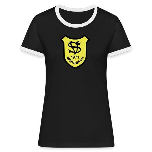 Wappen SV Morsbach - Frauen Kontrast-T-Shirt