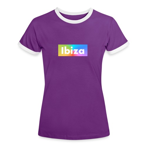 IBIZA Color - Women's Ringer T-Shirt