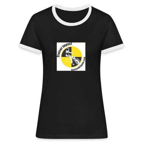 Crash Test 2 - T-shirt contrasté Femme