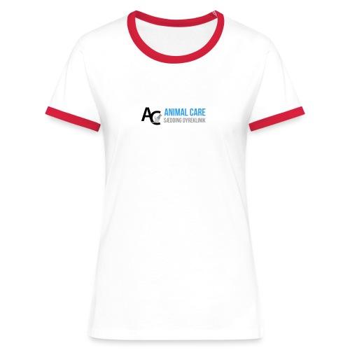 Sædding_Dyreklinik_ by Lattapon - Dame kontrast-T-shirt