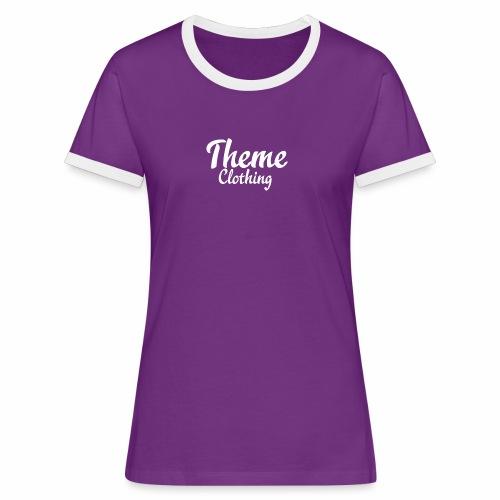 Theme Clothing Logo - Women's Ringer T-Shirt
