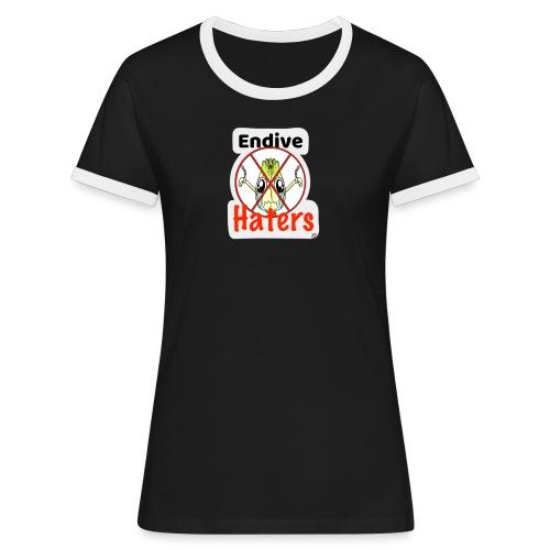 Endive Haters Edition limited - T-shirt contrasté Femme