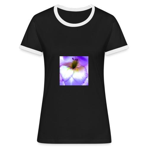 Gladice - Frauen Kontrast-T-Shirt