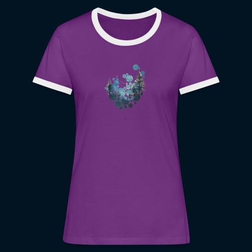 Camicia Flofames - Maglietta Contrast da donna