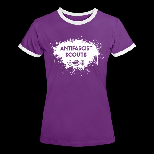 Antifascist Scouts - Women's Ringer T-Shirt