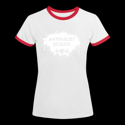 Antifascist Scouts - Women's Ringer T-Shirt
