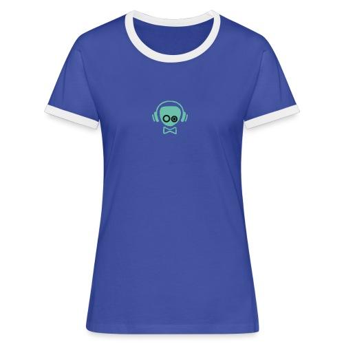 Gamer Design - Dame kontrast-T-shirt