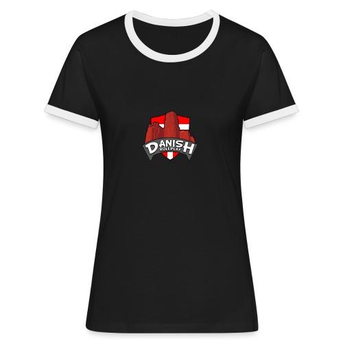 DanishRP Logo - Dame kontrast-T-shirt