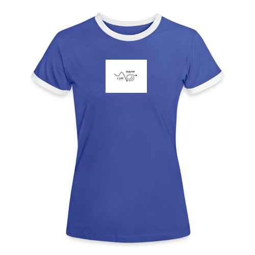 I_LOVE_DUBSTEP - Camiseta contraste mujer