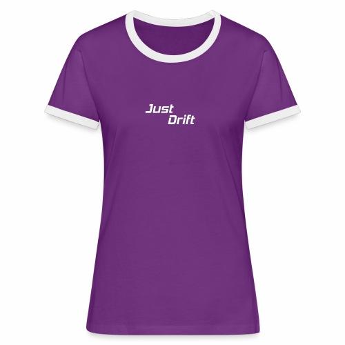 Just Drift Design - Vrouwen contrastshirt
