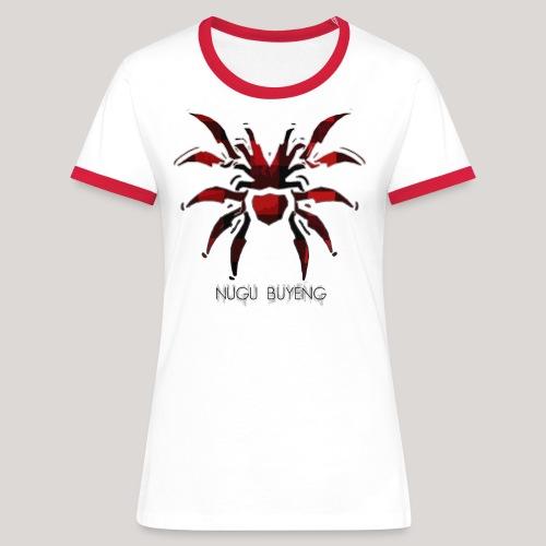 Cissaronid 5 Nugu Buyeng - Frauen Kontrast-T-Shirt