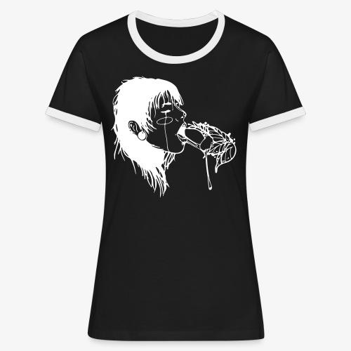 Le fruit défendu - T-shirt contrasté Femme