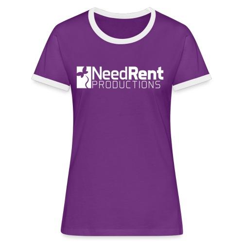 NeedRent Produktions - Dame kontrast-T-shirt