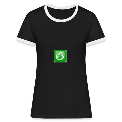 greenthumb333x333 - Frauen Kontrast-T-Shirt