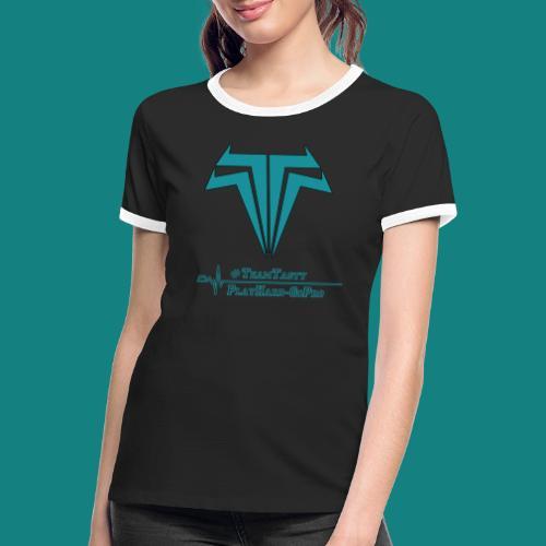 TastyTony ~ TeamTasty - Frauen Kontrast-T-Shirt