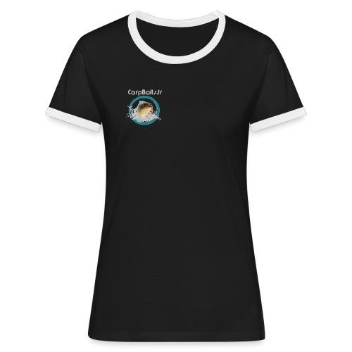 LOG4 png - T-shirt contrasté Femme