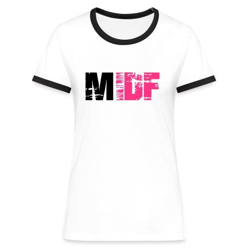 Logo MIDF 2 - T-shirt contrasté Femme