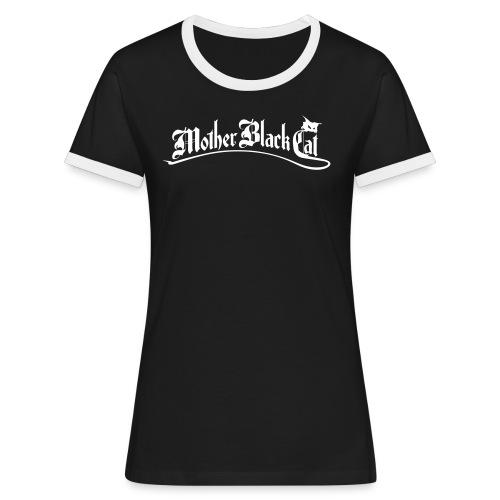 MBC Logo plain - Frauen Kontrast-T-Shirt