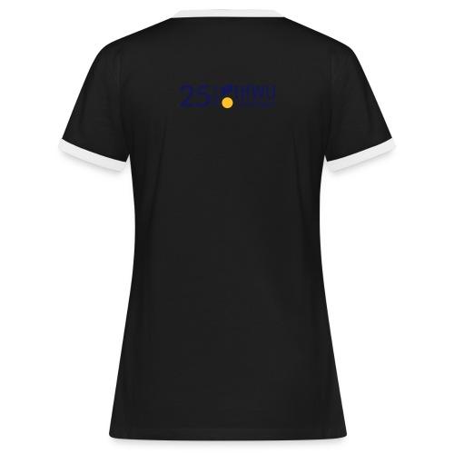 25jahrehfwugeislingen invers - Frauen Kontrast-T-Shirt