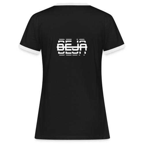BEJA (Premium Kompass) - Frauen Kontrast-T-Shirt