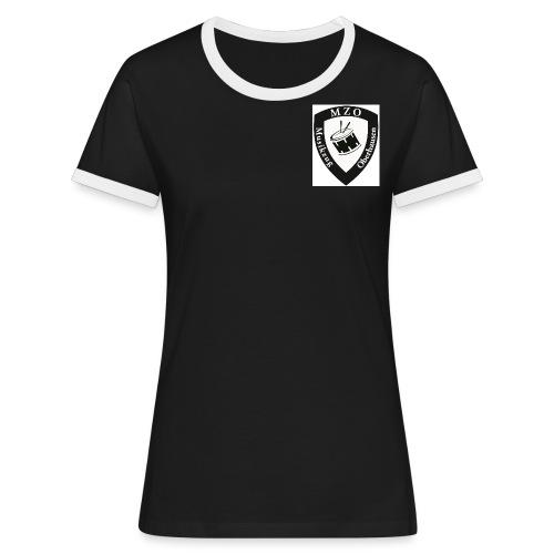 MZO Wappen - Frauen Kontrast-T-Shirt
