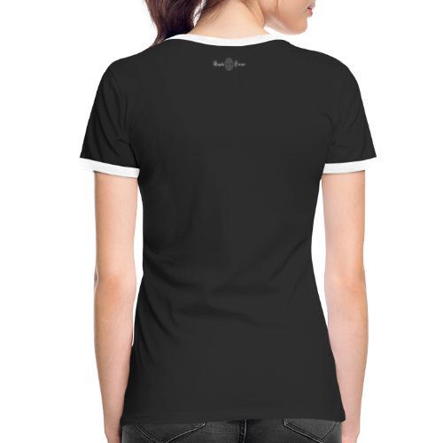 Pentasfera - Maglietta Contrast da donna