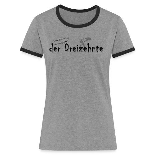 itsg 2018 - Frauen Kontrast-T-Shirt