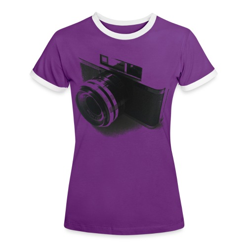 camara (Saw) - Women's Ringer T-Shirt